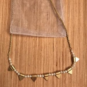 Plunder Pearl and Gold necklace